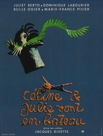 Céline e Julie Vão de Barco - Poster / Capa / Cartaz - Oficial 1