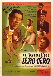 A família lero-lero - Poster / Capa / Cartaz - Oficial 1