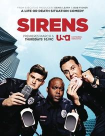 Sirens (US) (1ª Temporada) - Poster / Capa / Cartaz - Oficial 1