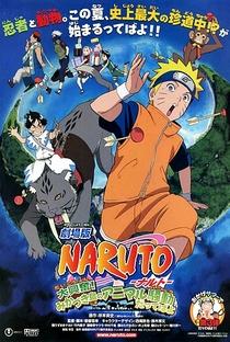 Naruto 3: A Revolta dos Animais da Lua Crescente! - Poster / Capa / Cartaz - Oficial 1