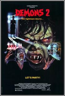 Demons 2 - Eles Voltaram - Poster / Capa / Cartaz - Oficial 3