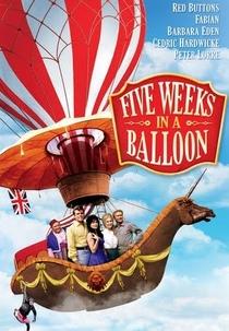 Cinco Semanas num Balão - Poster / Capa / Cartaz - Oficial 1