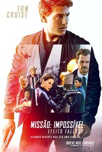 Missão: Impossível - Efeito Fallout - Poster / Capa / Cartaz - Oficial 1