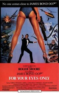 007 - Somente Para Seus Olhos - Poster / Capa / Cartaz - Oficial 12