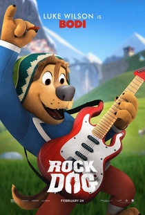 Rock Dog: No Faro do Sucesso - Poster / Capa / Cartaz - Oficial 4