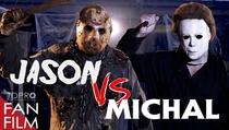 Jason Voorhees vs. Michael Myers - Poster / Capa / Cartaz - Oficial 1