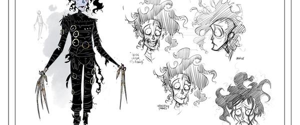 Edward Mãos de Tesoura: mais detalhes sobre a continuação em quadrinhos