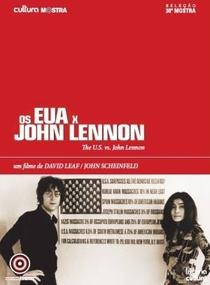 Os EUA X John Lennon - Poster / Capa / Cartaz - Oficial 4
