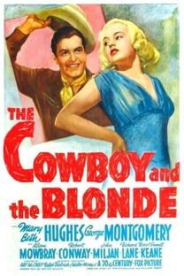 O Cowboy e a Loura - Poster / Capa / Cartaz - Oficial 1