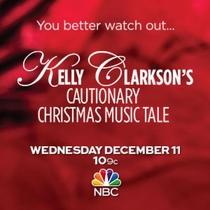Kelly Clarkson's Cautionary Christmas Music Tale - Poster / Capa / Cartaz - Oficial 2