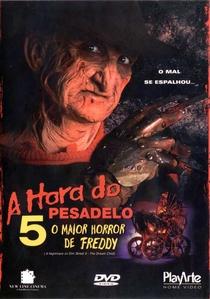 A Hora do Pesadelo 5: O Maior Horror de Freddy - Poster / Capa / Cartaz - Oficial 4