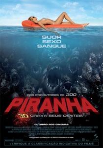 Piranha 3D - Poster / Capa / Cartaz - Oficial 1