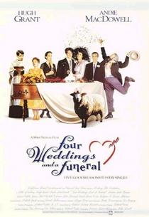 Quatro Casamentos e Um Funeral - Poster / Capa / Cartaz - Oficial 4