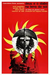 Deus e o Diabo na Terra do Sol - Poster / Capa / Cartaz - Oficial 1
