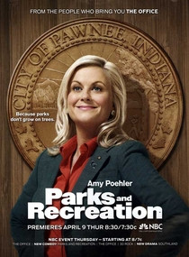 Parks and Recreation (1ª Temporada) - Poster / Capa / Cartaz - Oficial 1