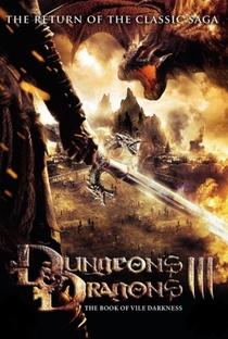 Dungeons & Dragons 3 - O Livro Da Escuridão - Poster / Capa / Cartaz - Oficial 2
