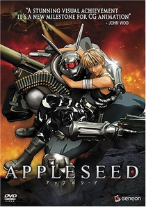 Appleseed - Poster / Capa / Cartaz - Oficial 1