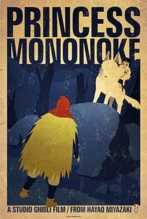 Princesa Mononoke - Poster / Capa / Cartaz - Oficial 28