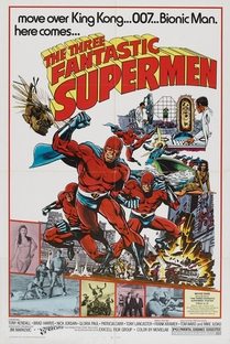Os 3 Fantásticos Super Homens - Poster / Capa / Cartaz - Oficial 1