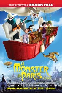 Um Monstro em Paris - Poster / Capa / Cartaz - Oficial 2
