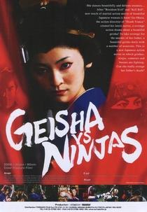 Geisha vs Ninjas - Poster / Capa / Cartaz - Oficial 1