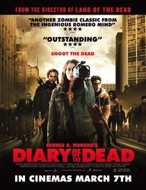 Diário dos Mortos - Poster / Capa / Cartaz - Oficial 2