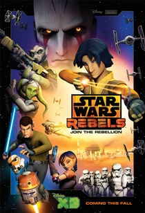 Star Wars Rebels (1ª Temporada) - Poster / Capa / Cartaz - Oficial 2
