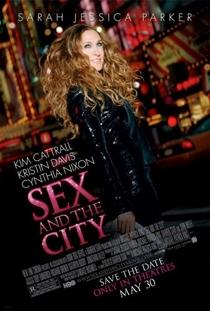 Sex and the City - O Filme - Poster / Capa / Cartaz - Oficial 3