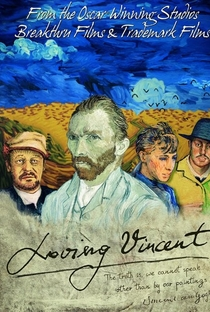 Com Amor, Van Gogh - Poster / Capa / Cartaz - Oficial 6