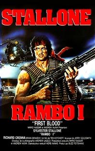 Rambo - Programado Para Matar - Poster / Capa / Cartaz - Oficial 2
