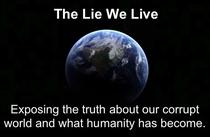 A Mentira Em Que Vivemos - Poster / Capa / Cartaz - Oficial 1