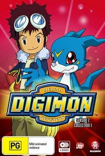 Digimon (2ª Temporada) - Poster / Capa / Cartaz - Oficial 7