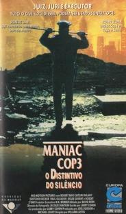 Maniac Cop 3 - O Distintivo do Silêncio - Poster / Capa / Cartaz - Oficial 2