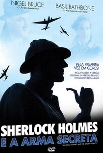 Sherlock Holmes e a Arma Secreta - Poster / Capa / Cartaz - Oficial 2