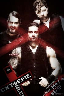 WWE Extreme Rules - 2014 - Poster / Capa / Cartaz - Oficial 2
