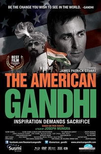 The American Gandhi - Poster / Capa / Cartaz - Oficial 2