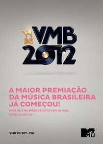 MTV Video Music Brasil | VMB 2012 - Poster / Capa / Cartaz - Oficial 1