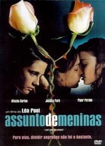 Assunto de Meninas - Poster / Capa / Cartaz - Oficial 3