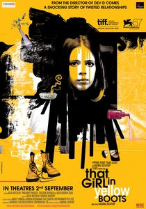 That Girl in Yellow Boots - Poster / Capa / Cartaz - Oficial 5