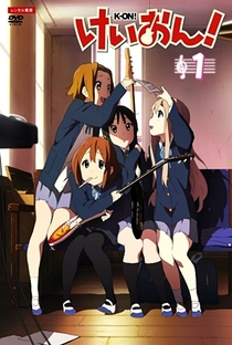 K-On! (1ª Temporada) - Poster / Capa / Cartaz - Oficial 10