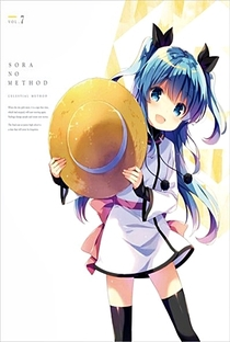 Sora no Method: Aru Shoujo no Kyuujitsu★ - Poster / Capa / Cartaz - Oficial 1