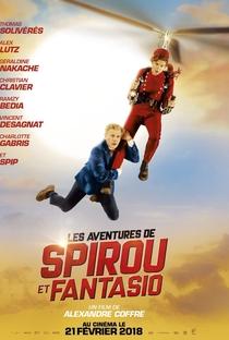 As Fantásticas Aventuras de Spirou e Fantasio - Poster / Capa / Cartaz - Oficial 1