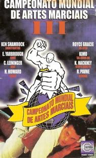 Campeonato Mundial de Artes Marciais III - Poster / Capa / Cartaz - Oficial 1