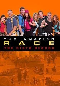 The Amazing Race (6ª Temporada) - Poster / Capa / Cartaz - Oficial 1