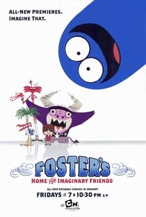 A Mansão Foster para Amigos Imaginários (1ª temporada) - Poster / Capa / Cartaz - Oficial 2