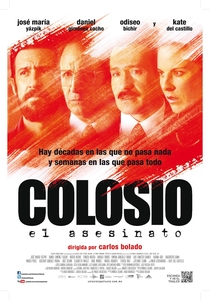 Colosio: O Assassinato - Poster / Capa / Cartaz - Oficial 1
