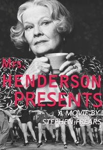 Sra. Henderson Apresenta - Poster / Capa / Cartaz - Oficial 2