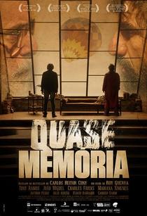 Quase Memória - Poster / Capa / Cartaz - Oficial 2