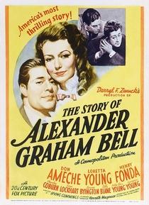 A História de Alexander Graham Bell - Poster / Capa / Cartaz - Oficial 1