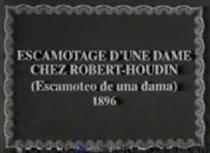 Escamotage d'une dame au théâtre Robert Houdin - Poster / Capa / Cartaz - Oficial 2